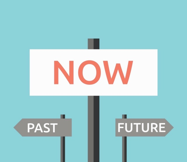 Now, past, future signs
